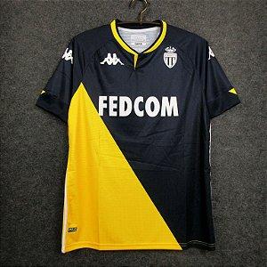 Camisa Monaco 2020-21 (Away-Uniforme 2)