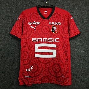 Camisa Rennes 2020-21 (Home-Uniforme 1)