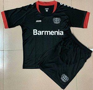 Conjunto Infantil (Camisa + Shorts) Bayer 04 Leverkusen 2020-2021 (Home-Uniforme 1)