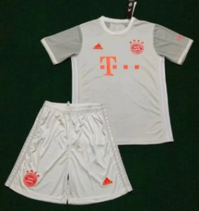 Conjunto Infantil (Camisa + Shorts) Bayern Munich 2020-2021 (Away-Uniforme 2)