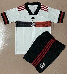Conjunto Infantil (Camisa + Shorts) Flamengo 2020 (Away-Uniforme 2)
