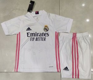 Conjunto Infantil (Camisa + Shorts) Real Madrid 2020-2021 (Home-Uniforme 1)
