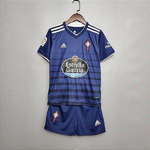 Conjunto Infantil (Camisa + Shorts) Celta de Vigo 2020-2021 (Away-Uniforme 2)
