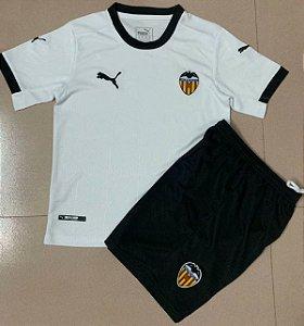 Conjunto Infantil (Camisa + Shorts) Valencia 2020-2021 (Home-Uniforme 1)