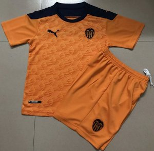 Conjunto Infantil (Camisa + Shorts) Valencia 2020-2021 (Away-Uniforme 2)