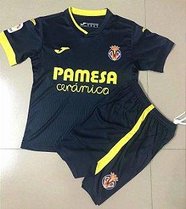 Conjunto Infantil (Camisa + Shorts) Villarreal 2020-2021 (Away-Uniforme 2)