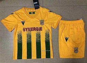 Conjunto Infantil (Camisa + Shorts) Nantes 2020-2021 (Home-Uniforme 1)