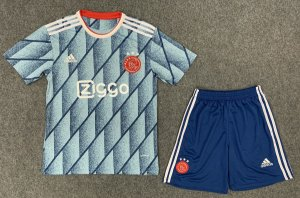 Conjunto Infantil (Camisa + Shorts) Ajax 2020-2021 (Away-Uniforme 2)