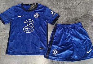 Conjunto Infantil (Camisa + Shorts) Chelsea 2020-2021 (Home-Uniforme 1)