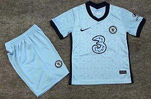 Conjunto Infantil (Camisa + Shorts) Chelsea 2020-2021 (Away-Uniforme 2)