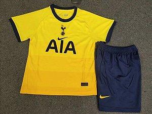 Conjunto Infantil (Camisa + Shorts) Tottenham Hotspur 2020-2021 (Third-Uniforme 3)