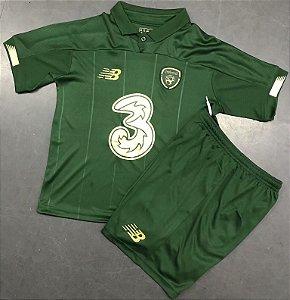 Conjunto Infantil (Camisa + Shorts) Irlanda 2020-2021 (Home-Uniforme 1)