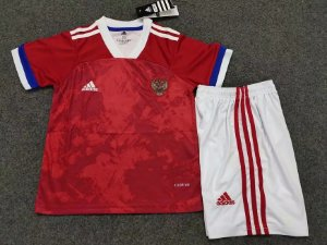 Conjunto Infantil (Camisa + Shorts) Rússia 2020-2021 (Home-Uniforme 1)
