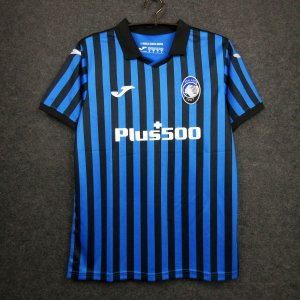 Camisa Atalanta 2020-21 (Home-Uniforme 1) - Champions League