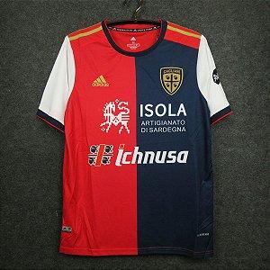 Camisa Cagliari 2020-21 (Home-Uniforme 1)