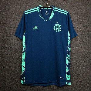 Camisa Flamengo 2020-21 (goleiro) - (sem patrocínios)