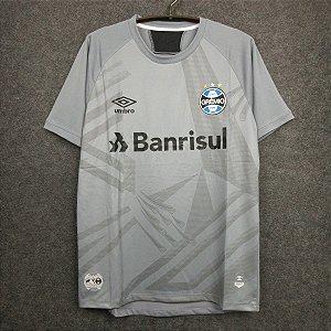 Camisa Grêmio 2020-21 (goleiro) - Cinza