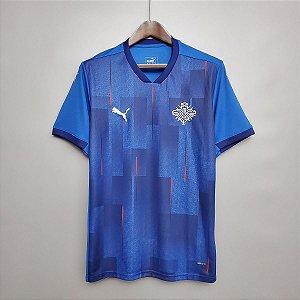 Camisa Islândia 2020-21 (Home-Uniforme 1)