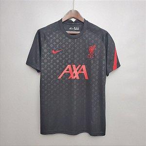 Camisa Liverpool (pré-jogo) 2020-21