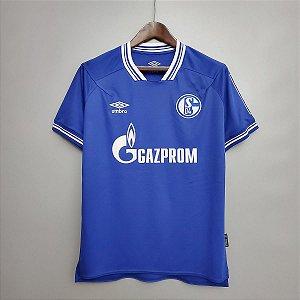 Camisa Schalke 04 2020-21 (Home-Uniforme 1)