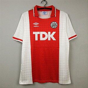 Camisa Ajax 1990-1991 (Home-Uniforme 1)