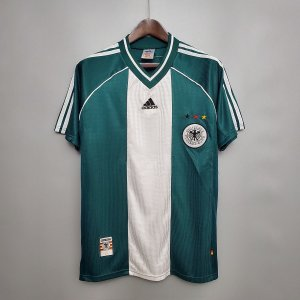 Camisa Alemanha 1998 Copa do Mundo (Away-Uniforme 2)