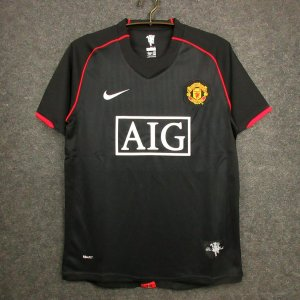 Camisa Manchester United 2007-2008 (Away-Uniforme 2)