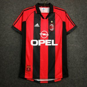 Camisa Milan 1998-1999 (Home-Uniforme 1)