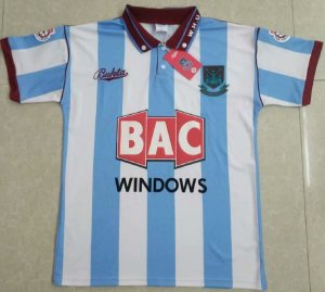 Camisa West Ham  1991-1992 (Away-Uniforme 2)
