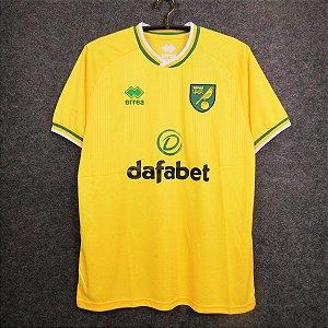 Camisa Norwich City  2020-21 (Home-Uniforme 1)