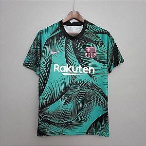 Camisa Barcelona 2020-21 (pré-jogo Champions League)
