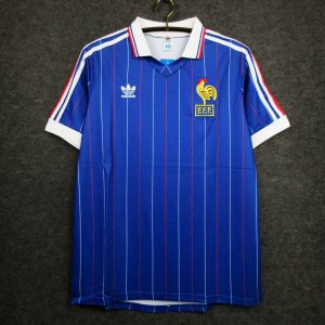 Camisa França  (Home-Uniforme 1) - Copa do Mundo 1982