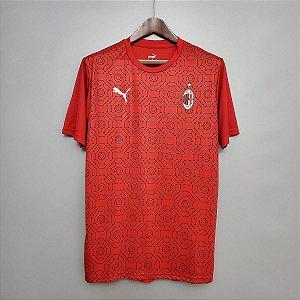 Camisa Milan 2020-21 (pré-jogo)