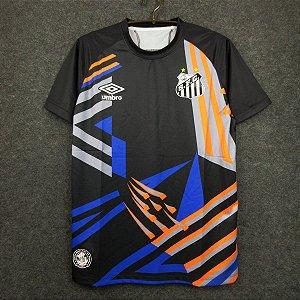 Camisa Santos 2020-21 (goleiro - preta)