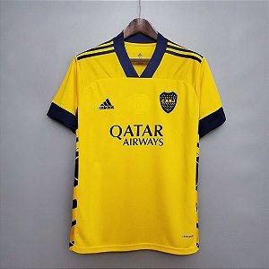 Camisa Boca Juniors 2020-21 (Third-Uniforme 3) - Modelo Torcedor