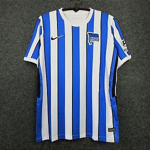 Camisa Hertha Berlin 2020-21 (Home-Uniforme 1)