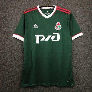 Camisa Lokomotiv Moscou 2020-21 (Home-Uniforme 1)
