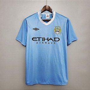 Camisa Manchester City 2011-2012 (Home-Uniforme 1)