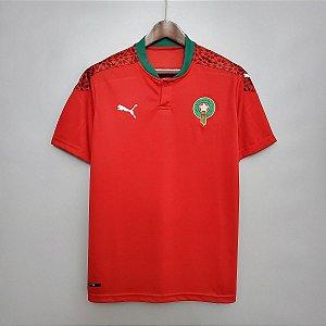Camisa Marrocos 2020-21 (Home-Uniforme 1)