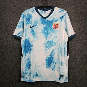 Camisa Noruega 2020-21 (Away-Uniforme 2)