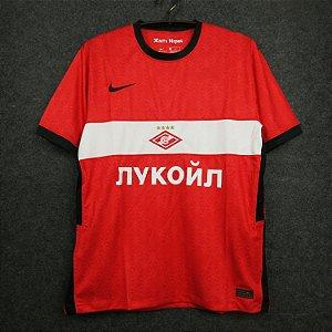 Camisa Spartak Moscou 2020-21 (Home-Uniforme 1)