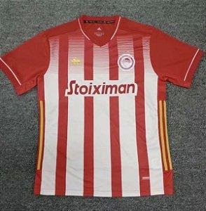 Camisa Olympiacos 2020-21 (Home-Uniforme 1)