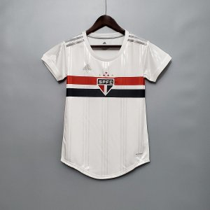 Camisa São Paulo 2020-21  (Home-Uniforme 1)  - Feminina