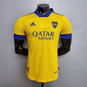 Camisa Boca Juniors 2020-21 (Third-Uniforme 3) - Modelo Jogador