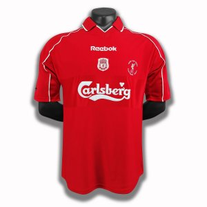 Camisa Liverpool 2000-2001 (Home-Uniforme 1)