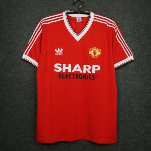 Camisa Manchester United 1982-1983 (Home-Uniforme 1)