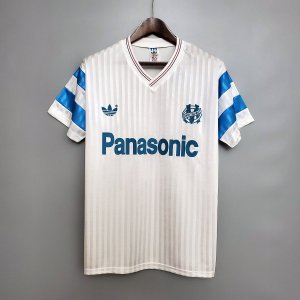 Camisa Olympique Marseille 1990 (Home-Uniforme 1)