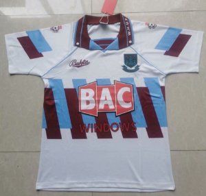 Camisa West Ham  1991-1992 (Third-Uniforme 3)