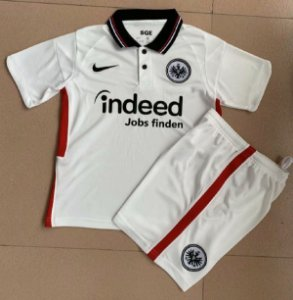 Conjunto Infantil (Camisa + Shorts) Eintracht Frankfurt 2020-2021 (Away-Uniforme 2)