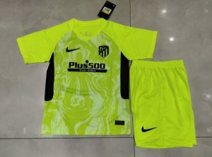 Conjunto Infantil (Camisa + Shorts) Atlético de Madrid 2020-21 (Third-Uniforme 3)